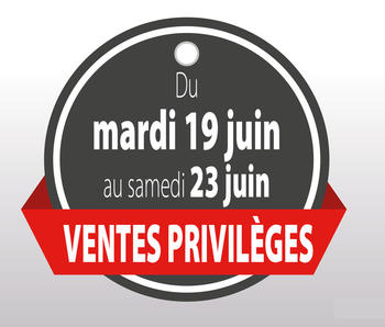 Ventes privées Pinel vêtements juin 2018